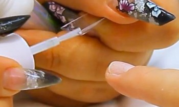 Correctly Sizing and Applying a Nail Tip Tutorial Video by Naio Nails