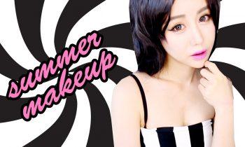 Korean Summer Makeup Tutorial ♥ Beginners Bronze & Pink ♥ Girls Day Ring My Bell Hyeri Look ♥ Wengie