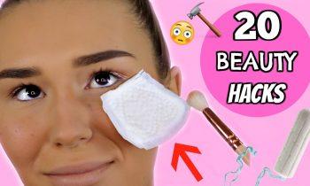 20 LIFE CHANGING Beauty Hacks!! | SHANI GRIMMOND