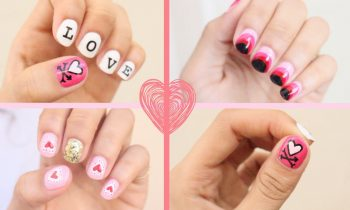 2016 Valentine's Day Nail Art: 3 Easy Designs!!!