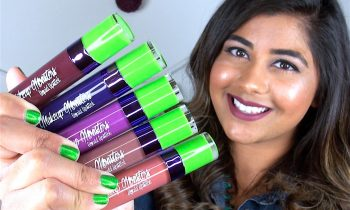 MAKEUP MONSTERS Liquid Lipsticks ♥ Lip Swatches & Review!