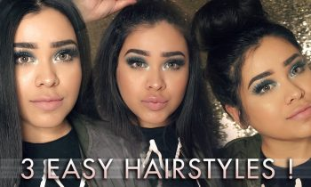 3 EASY HAIRSTYLES | FT. BELLAMI HAIR