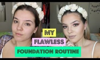 Flawless Foundation Routine ♡ In-depth Application Tutorial ♡ Oily Skin ♡ makeupby_jaz