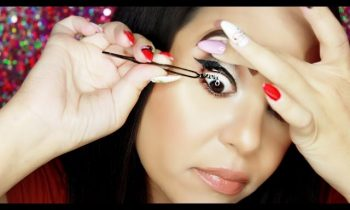 Applying False Lashes UNDERNEATH Your Own Top Eye Lashes ! Does it really work ?!