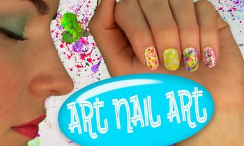 Art Nail Art! Nail Tutorial for 5 Easy Nail Art Designs. No Tools!