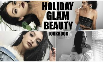 BEAUTY LOOKBOOK | Holiday glam tutorials!