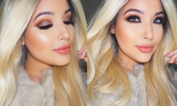 Bronze & Peach Makeup Tutorial Using All New Products!