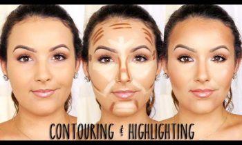 Contouring & Highlighting using Creams