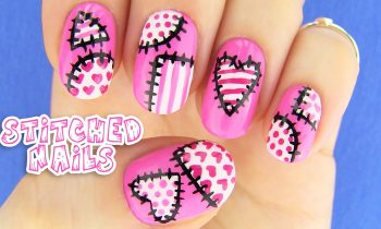 Cute Nails! Nail Art inspired by XoJahtna