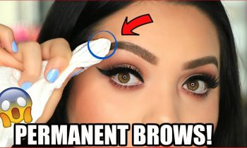 DIY PERMANENT BROWS | THE WUNDER BROW!