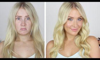 DRAB to FAB! Hair & Makeup Tutorial | Lauren Curtis