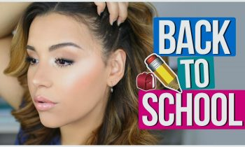 DRUGSTORE Back to School Makeup Tutorial   Quick, Easy + Affordable!