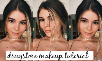 DRUGSTORE NATURAL MAKEUP TUTORIAL// first impressions kind of.. l Olivia Jade