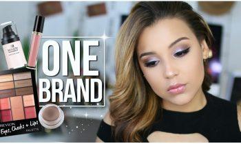 DRUGSTORE | One Brand Makeup Tutorial | REVLON