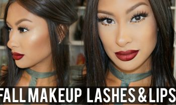 EASY FALL MAKEUP TUTORIAL- Lashes & Lips!