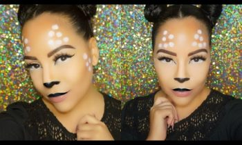 Easy Deer | Bambi Halloween Makeup Tutorial