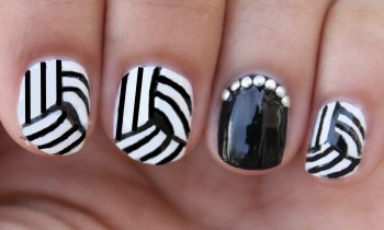 Easy Optical Illusion Nail Art!!