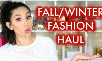 FALL & WINTER FASHION HAUL | BEAUTYYBIRD