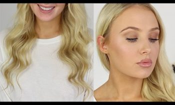FIRST IMPRESSIONS: Hair & Full Face of Makeup!! | Lauren Curtis