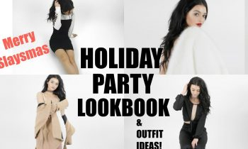 HOLIDAY PARTY LOOKBOOK| Merry Slaysmas! Ft. Lulus