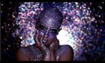 Halloween Look | Jewel Encrusted Extraterrestrial — NICOLE GUERRIERO