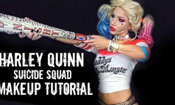 Harley Quinn inspired Makeup tutorial | spirit Halloween | BeeisforBeeauty