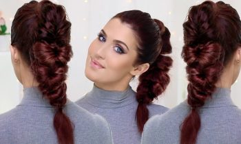 High Ponytail Loop Braid