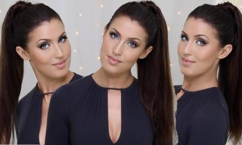How To: High Ponytail with Seamless Clip In Extensions for Shorter Hair