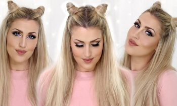 How To: Khloe Kardashian Hair Horns – Cat Ears Hair Tutorial