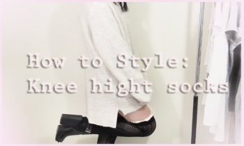 How to style: knee high socks