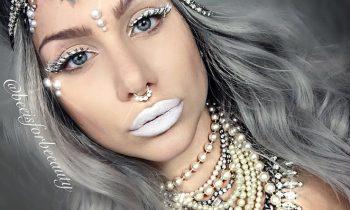 Ice Queen Fantasy makeup tutorial