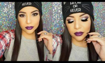 Kylie Cosmetics Holiday Eyeshadow Palette Makeup Tutorial