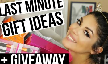 LAST MINUTE GIFT IDEAS + COMMENT HOLIDAY GIVEAWAY