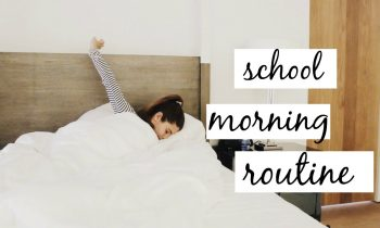 MY SCHOOL MORNING ROUTINE 2016