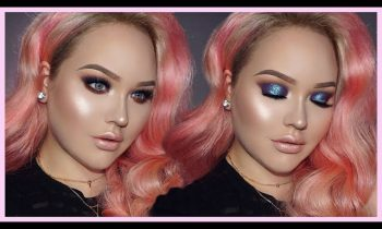 Mermaid GLITTER Smokey Eyes Makeup Tutorial