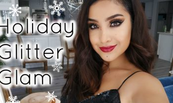 My Favorite Holiday Glam Look! + A Little Message for You :)