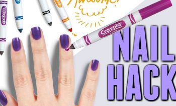 NAIL-HACK-Using-MARKERS-To-Remove-Nail-Polish