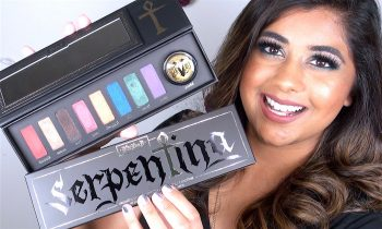 NEW Kat Von D Serpentina Palette: Review & Swatches!