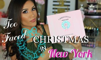 NEW Too Faced Christmas in New York Palette   REVIEW