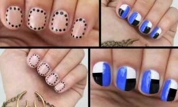 Nail Art for Dummies: 3 EASY Nail Art Designs!