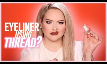 PERFECT LINER USING THREAD?? | NikkieTutorials