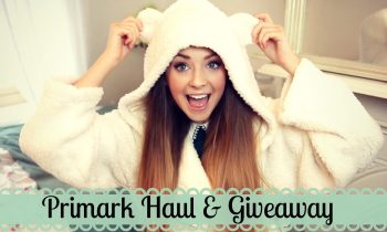 Primark Haul and Giveaway | Zoella