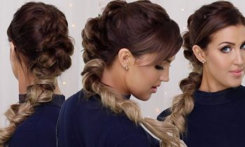 Pull Through Faux Mowhawk Braid