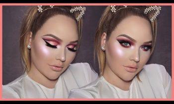 ROSE GOLD Cut Crease Smokey Eyes – THANKSGIVING Makeup Tutorial