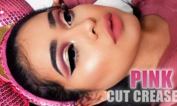 Romantic Pink Cut Crease | Makeup Tutorial