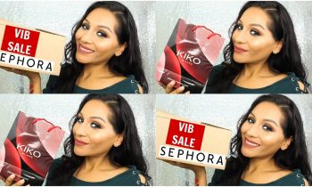 SEPHORA VIB SALE + KIKO HOLIDAY MAKEUP + F21 HAUL | BEAUTYBYMARIELA
