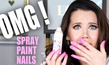 SPRAY PAINT NAIL POLISH | OMG! Tuesday