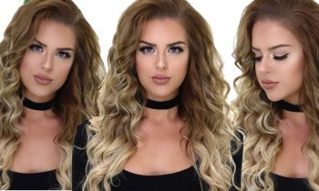 Voluminous Curly Hair Tutorial – Boho Curls