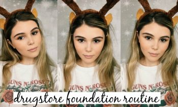 Winter Drugstore Foundation Routine 2016 l Olivia Jade