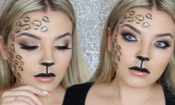 Glam Leopard Drugstore Makeup Tutorial ♡ Jasmine Hand